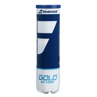 BABOLAT Gold Allcourt 4er Dose Tennisbälle