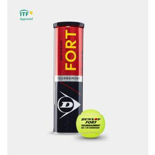 DUNLOP Fort Tournament 4er Dose Tennisbälle