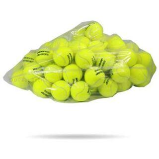 DUNLOP Training 60er Polybag Tennisball drucklos