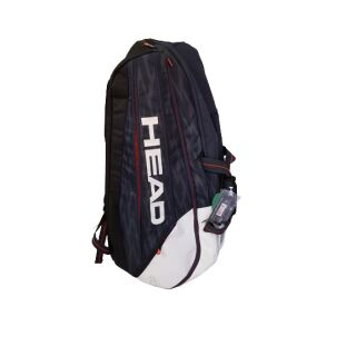 HEAD Djokovic 12R Monstercombi schwarz weiß