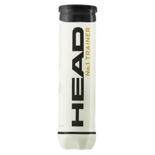 HEAD No.1 Trainer 4er Dose Tennisbälle
