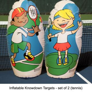 ONCOURT OFFCOURT Inflatable Knockdown Targets 2er Pck.
