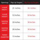 ONCOURT OFFCOURT Big Popup Targets 2er Set