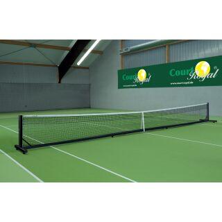 Tennisnetzanlage Court Royal transp. II schwarz