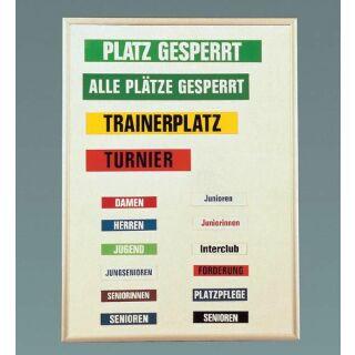 Aufbewahrungstafel für Magnetschilder 50 x 68 x 4 cm