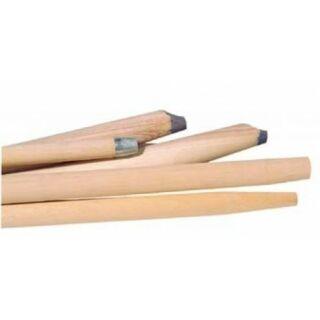 Holzstiel mit Alugewinde 24 mm