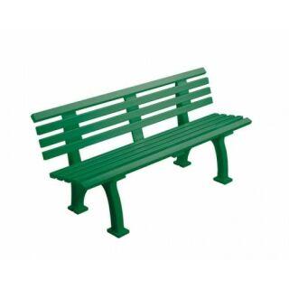 Bank Comfort PVC 150 cm grün