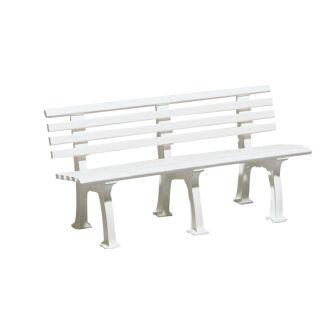 Bank Comfort PVC 200 cm weiß