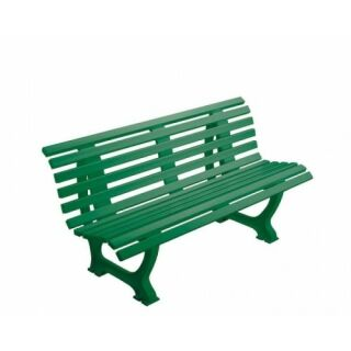 Bank Ergonomic PVC 150 cm grün